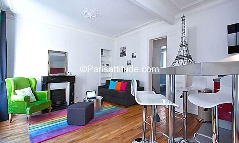 Aluguel Apartamento 1 quarto 43m² rue Simart, 75018 Paris