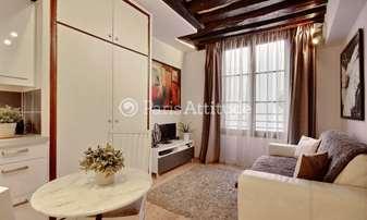 Rent Apartment Studio 17m² rue Jean Beausire, 4 Paris