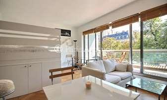 Rent Apartment Alcove Studio 30m² avenue Henri Martin, 16 Paris