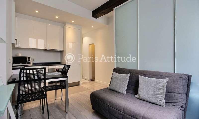 Rent Apartment 1 Bedroom 28m² rue Vieille du Temple, 3 Paris