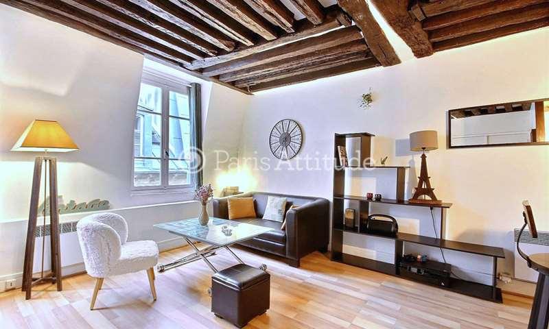 Rent Apartment Studio 29m² rue Saint Sauveur, 2 Paris