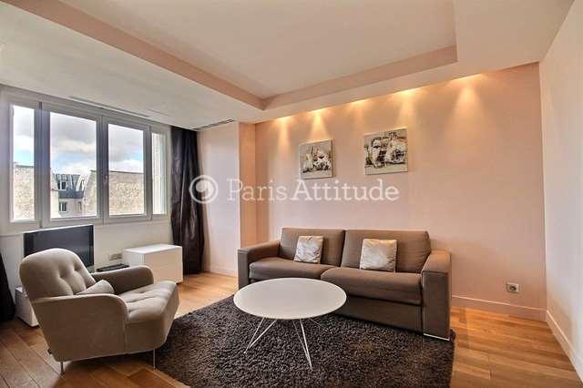 Rent furnished Apartment 1 Bedroom 48m² avenue Matignon, 75008 Paris
