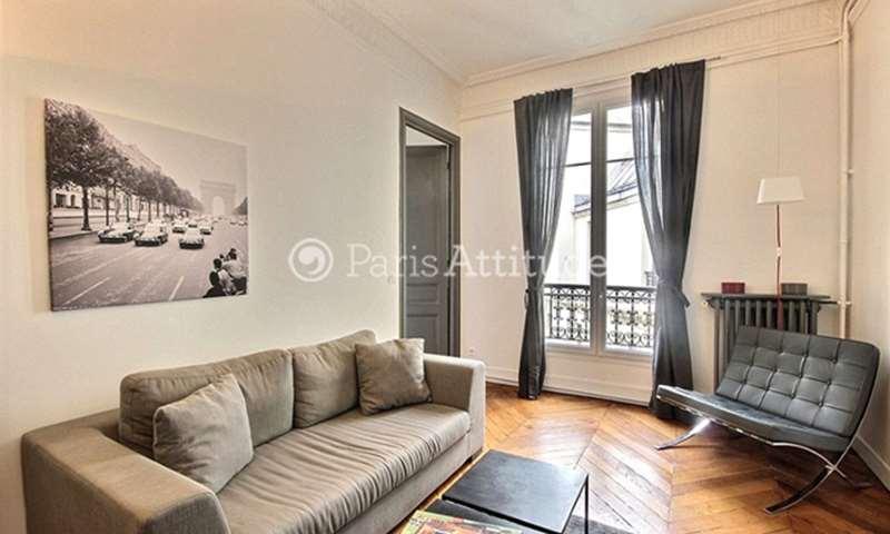 Rent Apartment 1 Bedroom 44m² rue de la Neva, 8 Paris