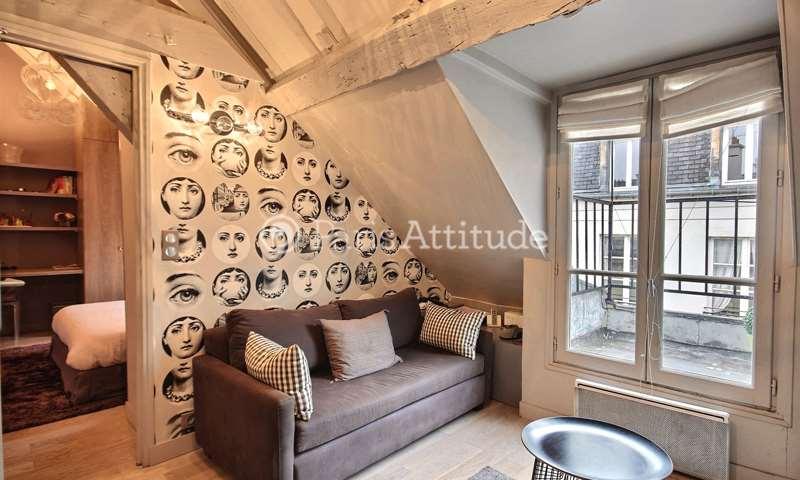 Rent Apartment 1 Bedroom 30m² rue des Francs Bourgeois, 3 Paris