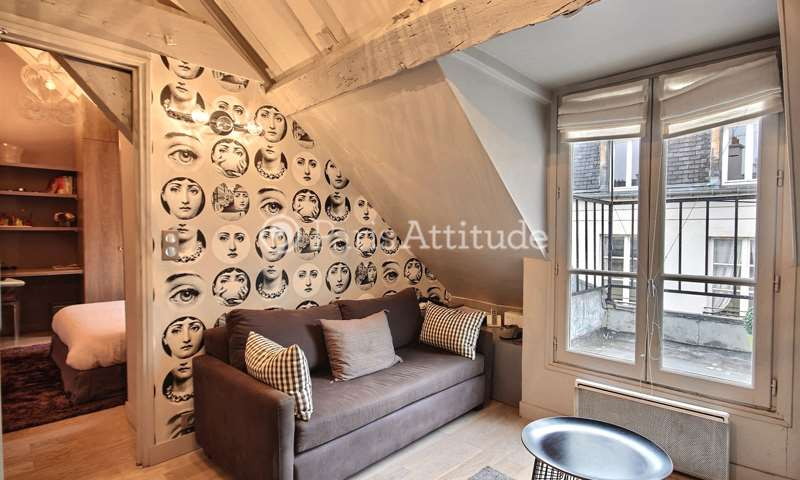 Rent Apartment 1 Bedroom 30m² rue des Francs Bourgeois, 75003 Paris