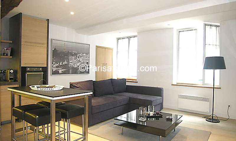 Rent Apartment 1 Bedroom 55m² rue Mouffetard, 5 Paris