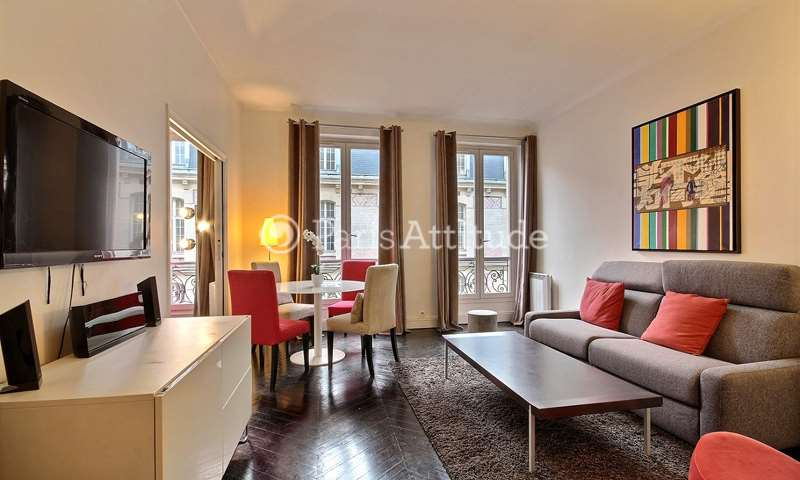 Rent Apartment 2 Bedrooms 55m² rue de Longchamp, 16 Paris