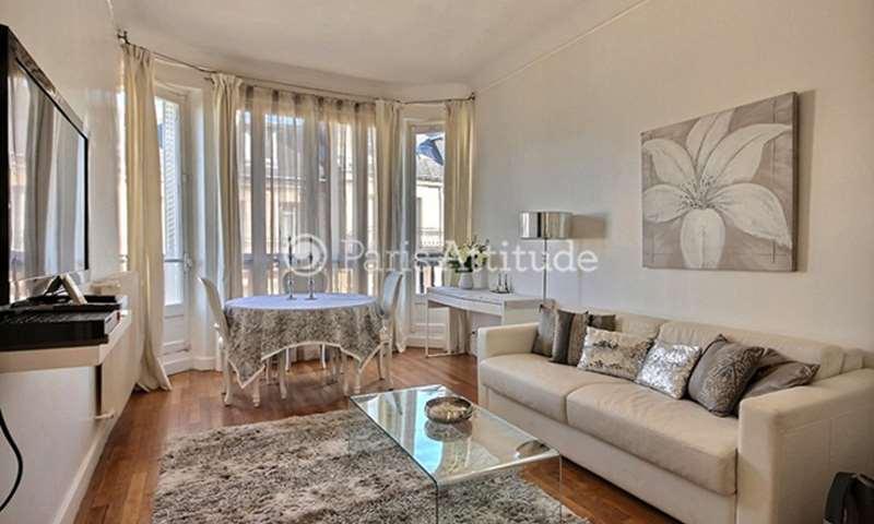 Rent Apartment 1 Bedroom 43m² avenue Bugeaud, 16 Paris