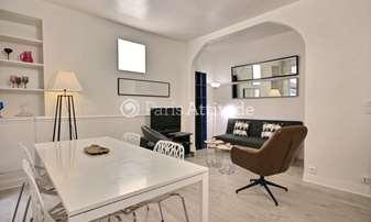 Rent Apartment 1 Bedroom 44m² rue Laugier, 17 Paris