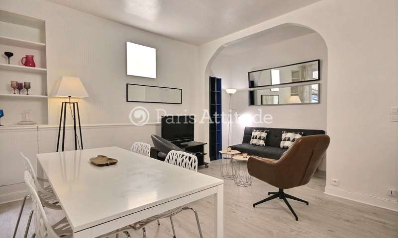 Location Appartement 1 Chambre 44m² rue Laugier, 75017 Paris