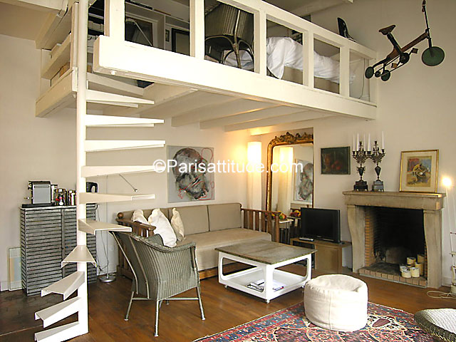 Louer un appartement paris 75006 35m latin quarter for Salon sur paris