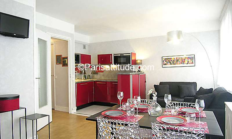 Rent Apartment Alcove Studio 34m² boulevard Murat, 75016 Paris