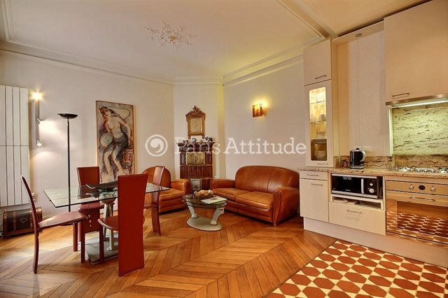Rent furnished Apartment 2 Bedrooms 58m² rue de Poissy, 75005 Paris