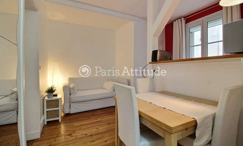 Rent Apartment 1 Bedroom 27m² rue de la Chapelle, 75018 Paris