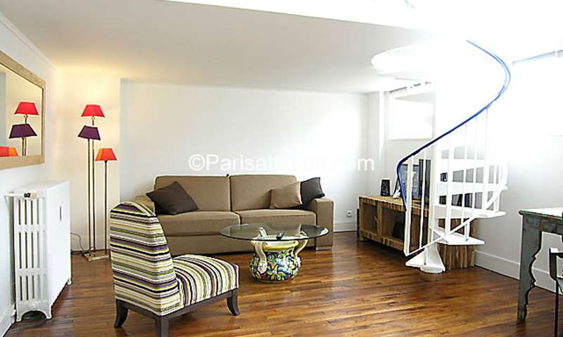 Rent Loft 1 Bedroom 53m² rue Pernety, 14 Paris