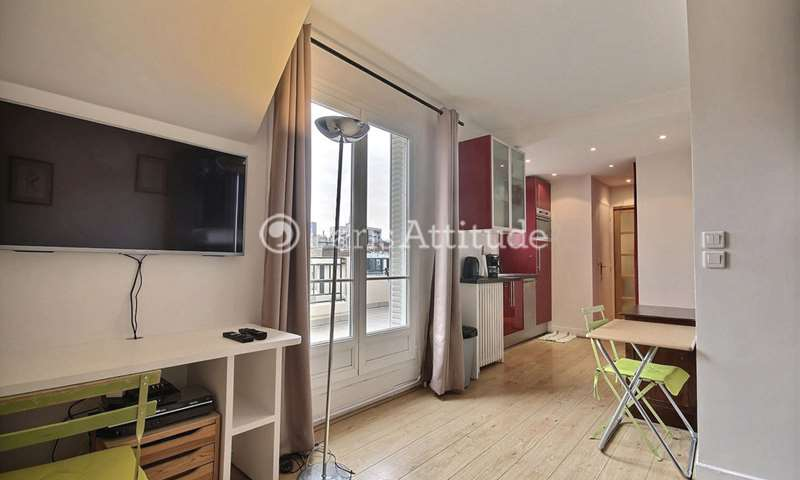 Location Appartement Studio 23m² rue Dombasle, 75015 Paris