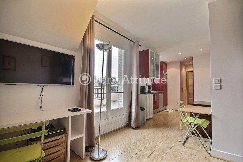 Rent furnished Apartment Studio 23m² rue Dombasle, 75015 Paris