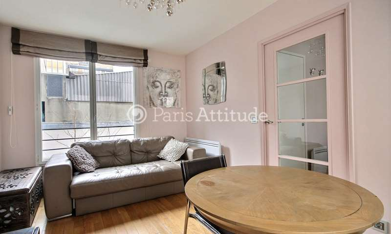 Rent Apartment Studio 22m² rue Brunel, 75017 Paris