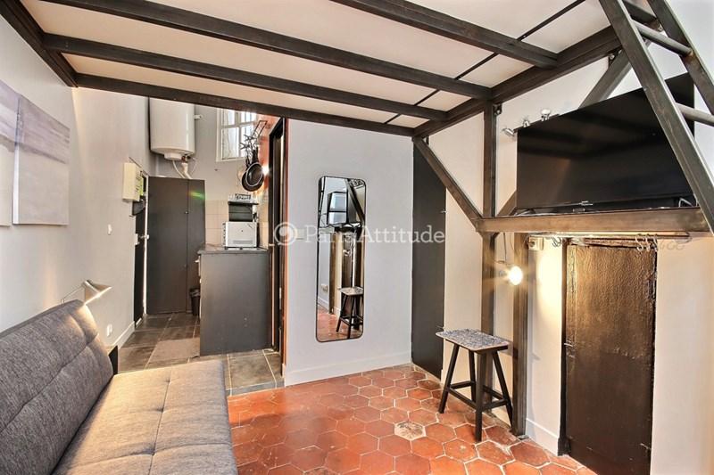 Rent Apartment Studio 13m² rue Saint Denis, 75002 Paris