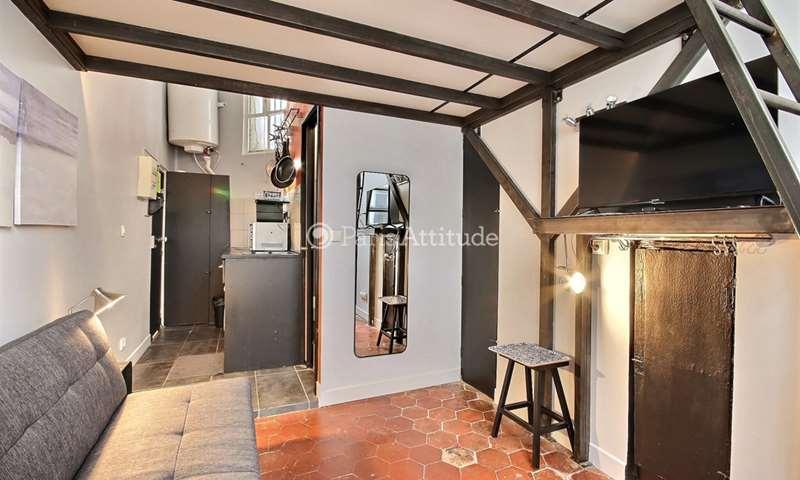 Rent Apartment Studio 13m² rue Saint Denis, 2 Paris