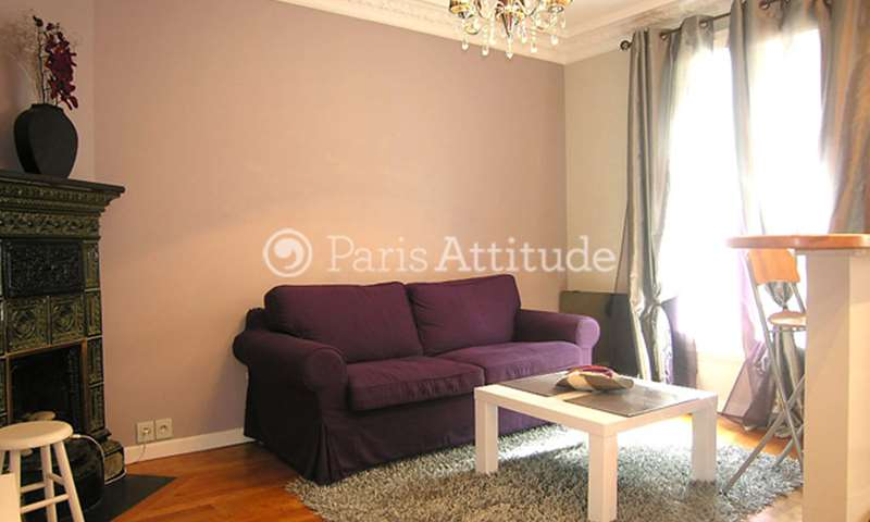 Rent Apartment 1 Bedroom 35m² rue de la Chine, 20 Paris