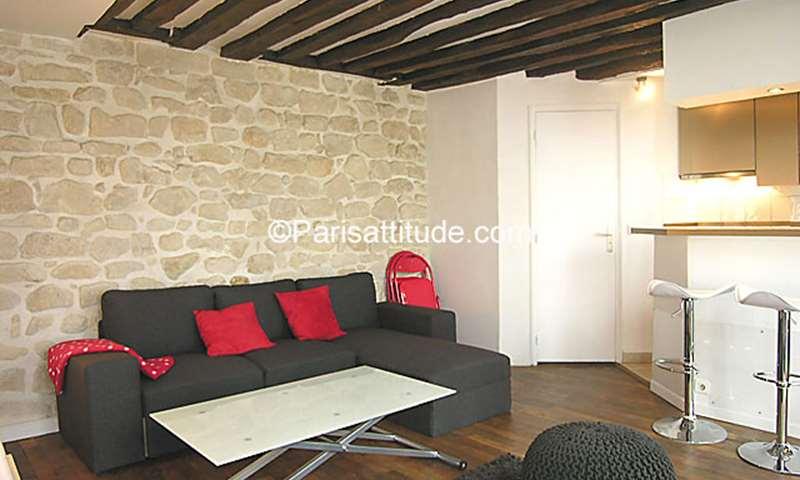 Rent Apartment 1 Bedroom 36m² rue Cherubini, 2 Paris