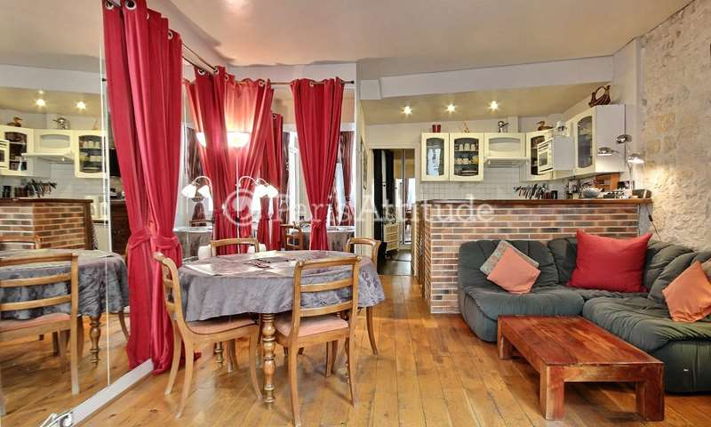 Rent Apartment 2 Bedrooms 55m² rue Dauphine, 6 Paris