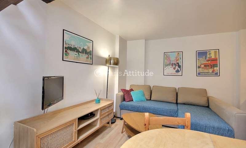 Rent Apartment 1 Bedroom 30m² rue des ecouffes, 4 Paris