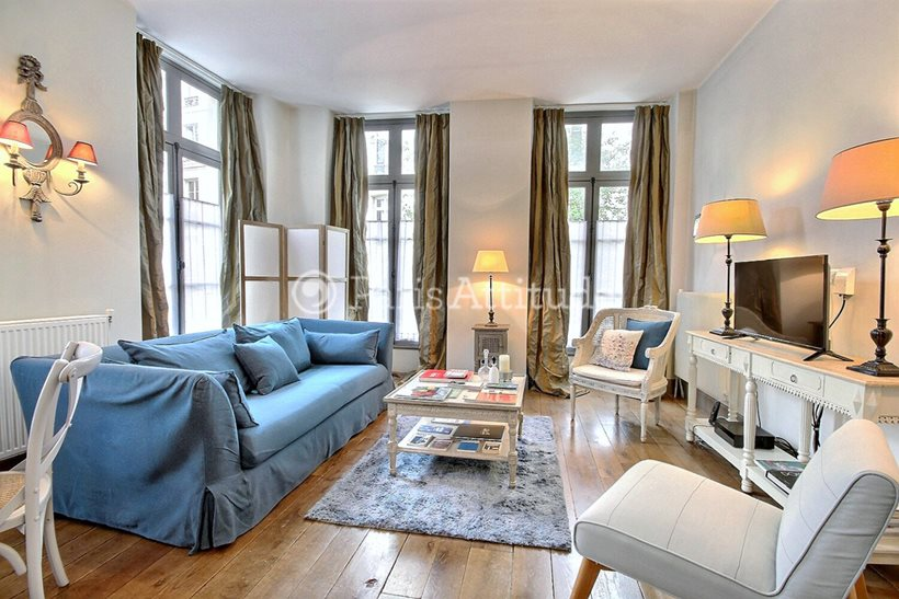 Rent furnished Apartment 2 Bedrooms 60m² rue de Clery, 75002 Paris