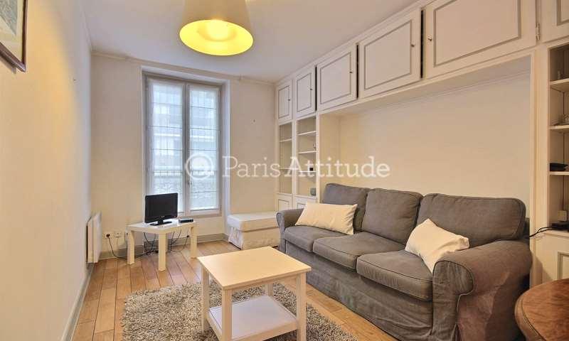 Rent Apartment 1 Bedroom 38m² rue des huissiers, 92200 Neuilly sur Seine