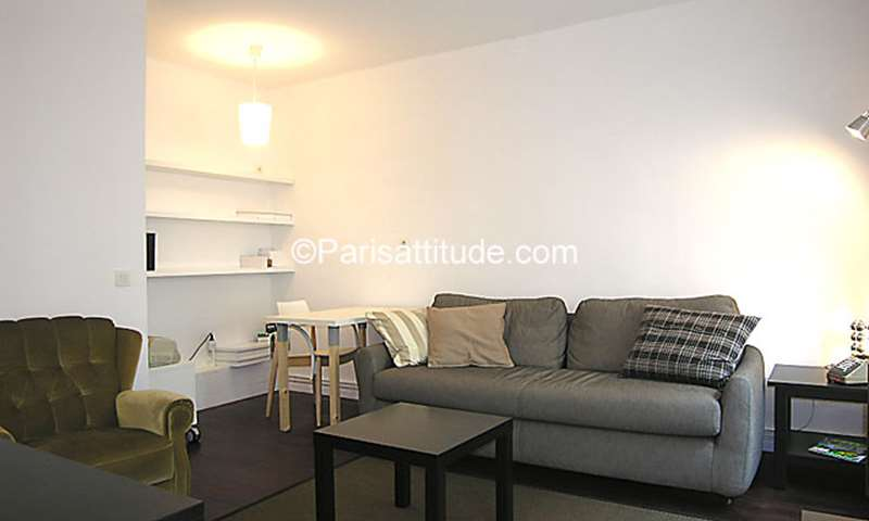 Rent Apartment 1 Bedroom 39m² rue du Moulin Joly, 75011 Paris