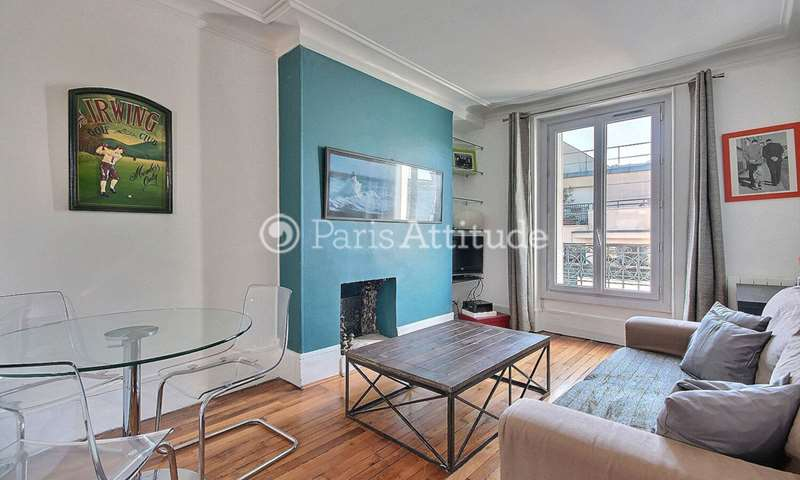 Rent Apartment 1 Bedroom 43m² rue Marius Aufan, 92300 Levallois Perret
