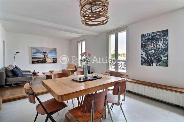 Louer Appartement meublé 2 Chambres 53m² rue Andre Barsacq, 75018 Paris