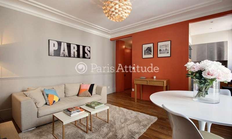 Rent Apartment 1 Bedroom 40m² rue Greuze, 16 Paris