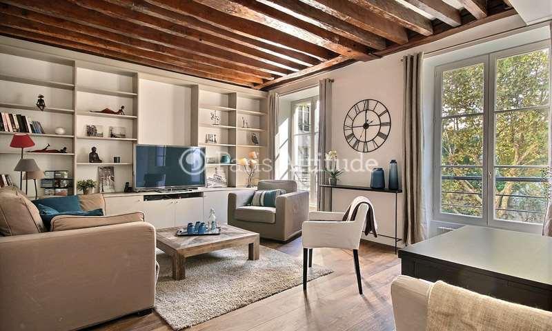 Rent Apartment 1 Bedroom 53m² rue Saint Sauveur, 2 Paris