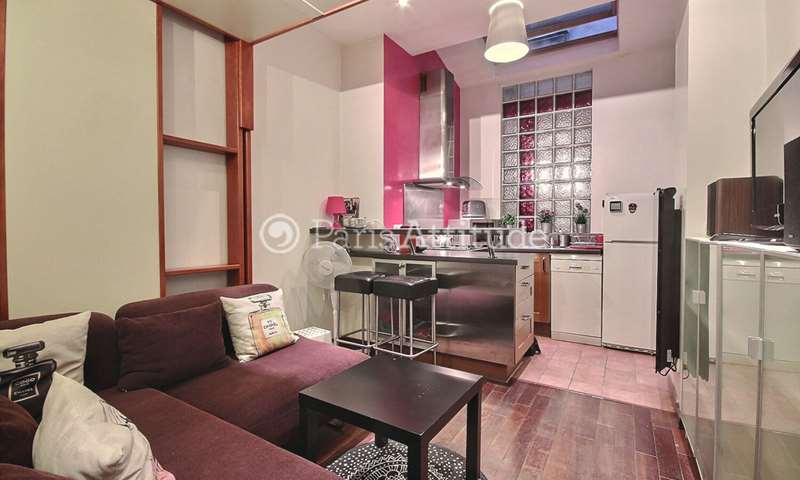 Rent Apartment Studio 18m² avenue de la Republique, 11 Paris