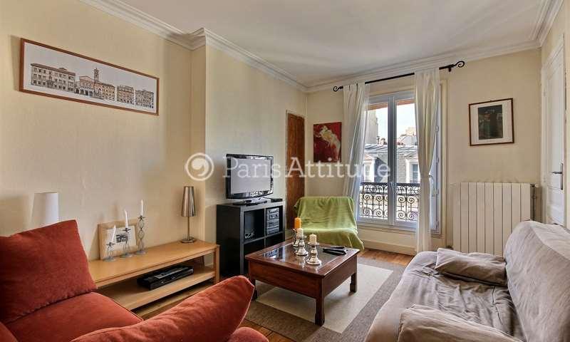 Rent Apartment 1 Bedroom 46m² rue du Moulin Vert, 75014 Paris
