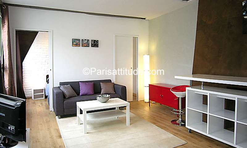 Rent Duplex 1 Bedroom 36m² rue Montorgueil, 75002 Paris