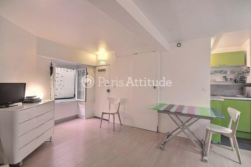 Rent Apartment Studio 21m² rue de Clery, 75002 Paris