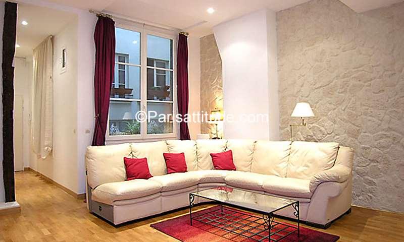 Rent Apartment 1 Bedroom 60m² rue Saint Honore, 1 Paris