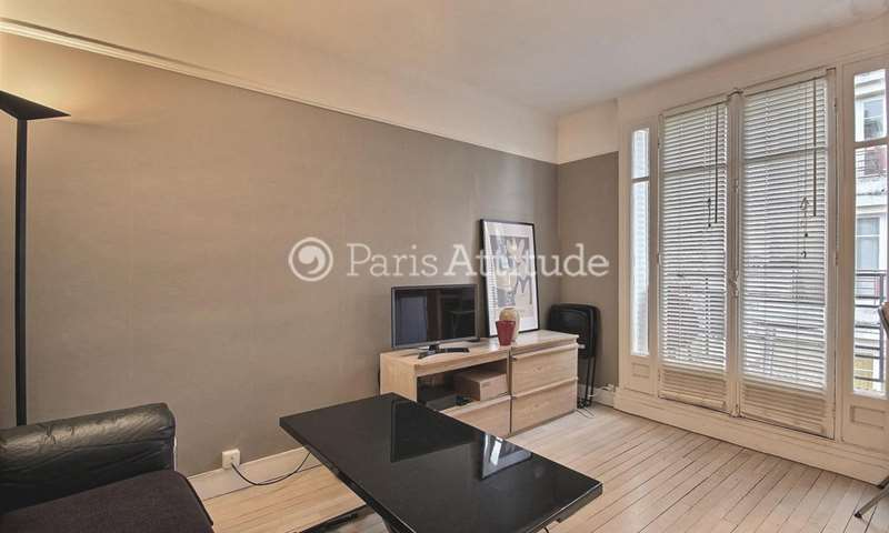 Rent Apartment Studio 26m² rue La Condamine, 17 Paris