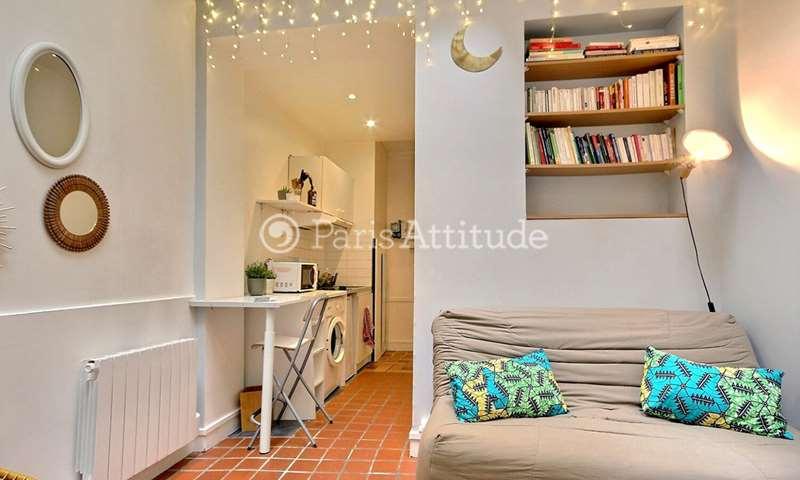 Rent Apartment Studio 18m² rue du Faubourg Saint Martin, 75010 Paris