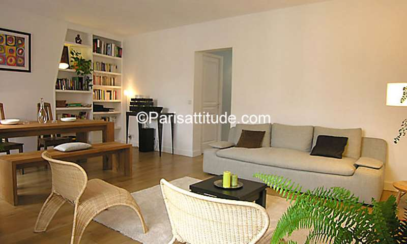 Rent Apartment 1 Bedroom 47m² rue Maublanc, 15 Paris