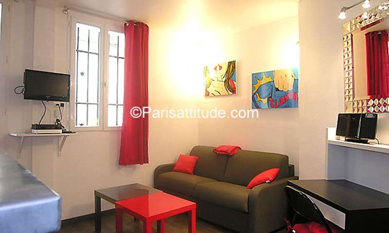 Location Appartement Studio 19m² rue Blondel, 75003 Paris