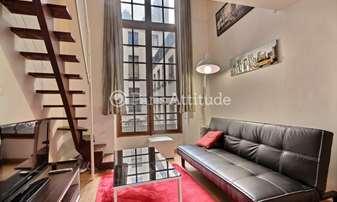 Rent Apartment Studio 15m² rue Vieille du Temple, 4 Paris