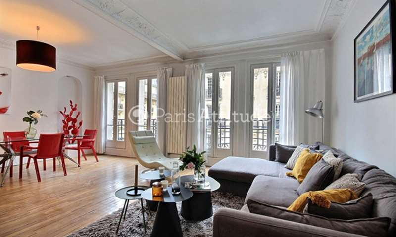 Rent Apartment 2 Bedroom 90m² rue Poussin, 75016 Paris