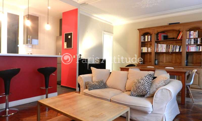 Rent Apartment 2 Bedroom 72m² rue Rene Boulanger, 75010 Paris