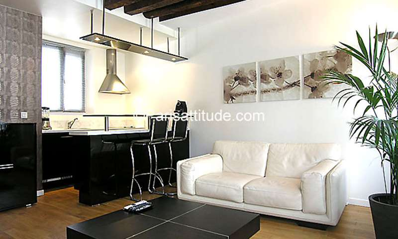 Rent Apartment 1 Bedroom 34m² rue Desaugiers, 16 Paris