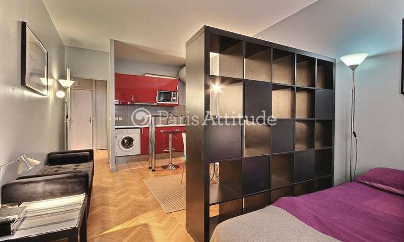 Rent Apartment Studio 32m² rue de la Cour des Noues, 20 Paris