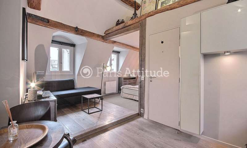 Rent Apartment Studio 30m² rue de Savoie, 6 Paris